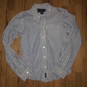 Abercrombie & Fitch boys button down shirt XL 14